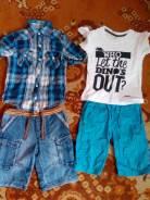 Куча классной одежды для мальчика 3-5 лет. Рост: 98-104, 104-110, 110-116 см
