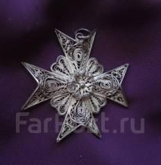 Потеряла крест (мальтийский, крупный) на серебряной цепочке