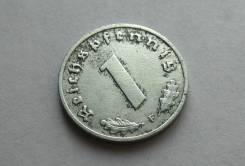 1 Пфенниг 1942 год F - Чекан Штутгарта Германия 24