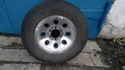 Продам комплект летних колес на дисках. 8.0x16 6x139.70 ET-15 ЦО 110,1мм.
