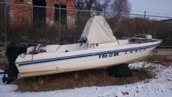 Tohatsu. Год: 1996 год, длина 5,90м., двигатель подвесной, 75,00л.с., бензин