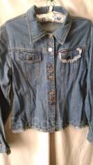 Куртки джинсовые. 38, 40, 42