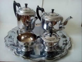 Сервиз мельхиоровый для чая и кофе