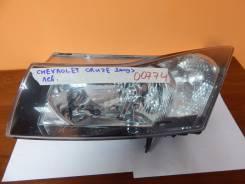 Фара. Chevrolet Cruze, J300, J305