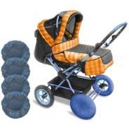 Для колясок чехлы на колеса 4шт
