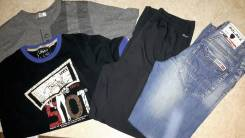 Фирменная мужская основная одежда! 4 предмета! С рубля!. 46, 48