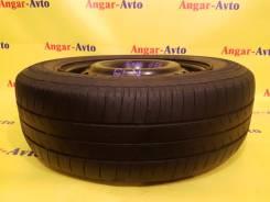 Одна летняя шина на штампованном диске R15. x15 5x114.30 ЦО 54,0мм.