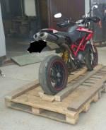 Ducati Hypermotard 1100. 1 100 куб. см., исправен, без птс, без пробега