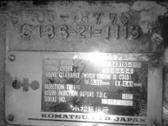 Двигатель. Komatsu