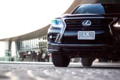 Губа. Lexus LX570