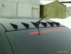 Молдинг крыши. Mitsubishi Lancer X