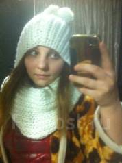 Шапка и шарф. 54, 55, 56, 55-59