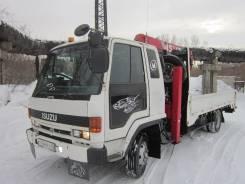 Isuzu Forward. Продам манипулятор-эвакуатор, 7 200 куб. см., 5 000 кг.