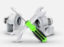 Ремонт систем вентиляции.