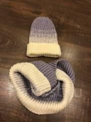 Шапка и шарф. 55, 56, 57. Под заказ