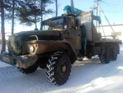 Урал 43202. 26Продам Урал 4320 с крановой установкой, 8 020,00кг.