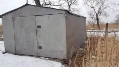 Гаражи металлические. Боровикова, р-н Черниговка, 24 кв.м. Вид снаружи