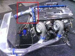 Клапан перепускной. Nissan Stagea, WGNC34 Nissan Skyline, BNR34, BCNR33, BNR32 Двигатель RB26DETT