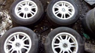 Комплект Литья с Резиной 185/70R14 Dunlop во Владивостоке. x14 4x100.00