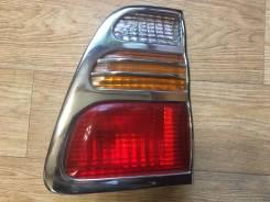 Стоп-сигнал в дверь Toyota Land Cruiser 100. Toyota Land Cruiser, HDJ101, FZJ100, FZJ105, HDJ100, HZJ105, UZJ100 Двигатели: 1HZ, 1FZFE, 2UZFE, 1HDFTE