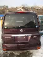 Дверь багажника. Nissan Serena, CNC25 Двигатель MR20DE