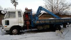 Nissan Diesel. Кран-Борт 5т. Стрела 3т., 6 925 куб. см., 5 000 кг.