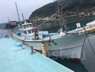 Шхуна рыболовная, транспортная 14 м из Японии. Год: 1984 год, длина 13,80м., двигатель стационарный, 230,00л.с., дизель. Под заказ