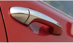 Накладка на ручки дверей. Toyota RAV4, ZSA44, ZSA42L, ASA42, ALA49L, XA40, ZSA44L, ZSA42, ASA44L, QEA42, ASA44, ALA49 Двигатели: 3ZRFE, 2ARFE, 2ADFTV