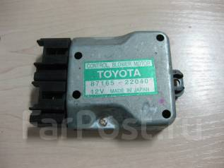 Реостат печки. Toyota: Chaser, Cresta, Altezza, Mark II, Crown, Origin, Aristo, Land Cruiser, Progres, Century, Celsior, Harrier Двигатели: 1JZGE, 4SF...