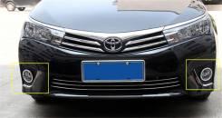 Ободок противотуманной фары. Toyota Corolla