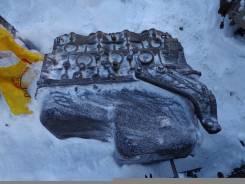 Блок цилиндров. Isuzu Bighorn Isuzu Elf Двигатель 4JG2