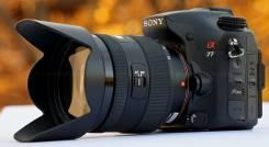 Sony Alpha SLT-A77 Kit. 20 и более Мп, зум: 14х и более