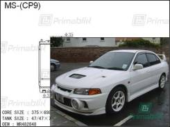 Радиатор двигателя Mitsubishi EVOLUTION 1996- (CN9A) (4G63-T) Lancer EVOLUTION IV полностью алюминиевый(AL*42)