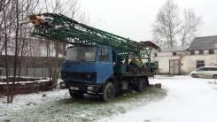 МАЗ. Буровая установка 1ба15в