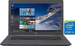 """Acer Aspire E5. 17.3"""", 2,2ГГц, ОЗУ 6144 МБ, диск 1 000 Гб, WiFi, Bluetooth, аккумулятор на 3 ч."""