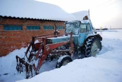 МТЗ 80. Трактор с куном