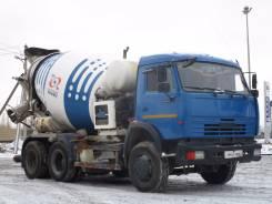 Камаз 65115. КамАЗ 65115 автобетоносмеситель (2013), 11 762 куб. см., 7,00куб. м.