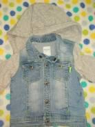 Куртки джинсовые. Рост: 74-80 см