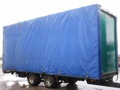 Metaco. тентованный прицеп, 18 000 кг.