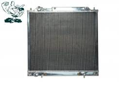 Радиатор охлаждения двигателя. Mitsubishi Delica Space Gear, PD6W, PF6W, PB6W Mitsubishi Delica