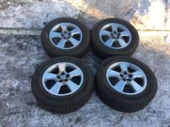 Продам литьё 15 оригинал Toyota с зимней резиной, возможен обмен. 6.0x15 5x100.00 ET45