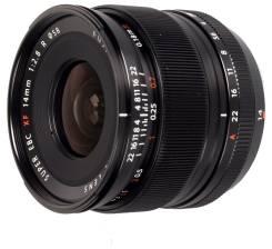 Объектив Fujifilm XF 14mm f/2.8 R. Для Fujifilm X Mount, диаметр фильтра 58 мм