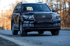 Обвес кузова аэродинамический. Toyota Land Cruiser, URJ200, URJ202, UZJ200 Двигатели: 3URFE, 1URFE, 2UZFE