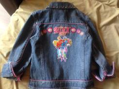 Куртки джинсовые. Рост: 110-116, 116-122 см