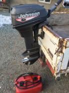 Johnson. 2х тактный, бензин, нога S (381 мм), Год: 1999 год