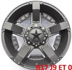 XD Series. 9.0x17, 5x139.70, 5x150.00, ET0, ЦО 110,1мм.