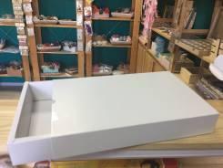 Крпфтовая белая коробка для упаковки подарка