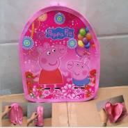 Рюкзак Свинка пеппа (розовый) Peppa Pig. Рост: 74-80, 80-86, 86-98, 98-104, 104-110, 110-116, 116-122 см