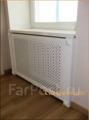 Решетки, экраны для радиаторов отопления. Под заказ