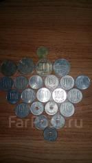 Продам монеты иены и доллары гонконг